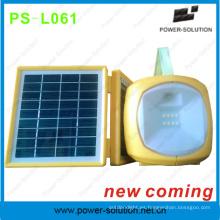En pleno auge 2W Shenzhen linterna Solar con 3.5W Cargador Solar