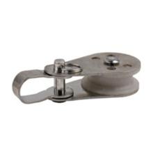 Polea giratoria de aleación de zinc con rueda de nylon
