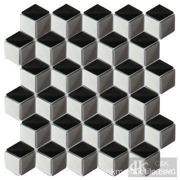 Full Body Diamond Glass Mosaic Backsplash-tegels