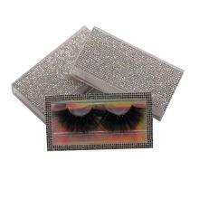3D510H Hitomi Handmade 3d Mink Lashes Long Eyelash soft natural mink eyelashes Fluffy 25mm Magnetic Mink Eyelashes
