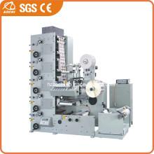 Adhesive Paper Label Flexographic Printing Machine (AC320-4B)