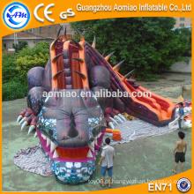 2016 Dilúvio inflável gigante do dinossauro do projeto vívido para a venda