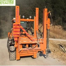 Highway Hydraulic Pencegah Tiang Pagar Extractor