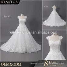 Высокое качество последние бальное платье свадебное платье с декольте без бретелек/Съемный одно плечо свадебные платья
