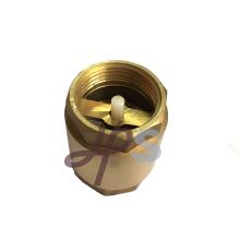 латунь весной обратный клапан с пластиковым сердечником