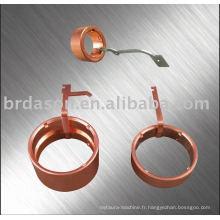 Machine ultrasonique de soudure d'anneau collecteur