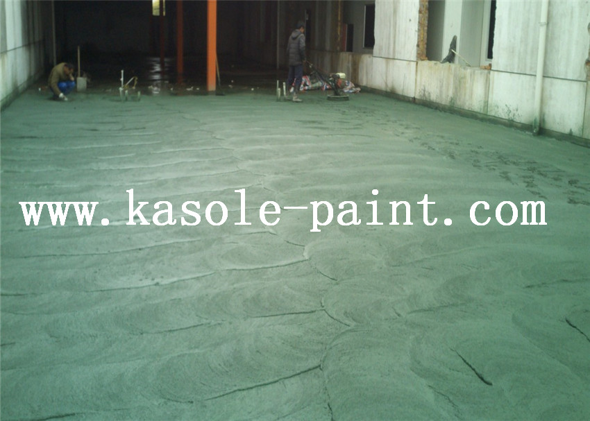 Imported Chrome Green Metal Wear Floor