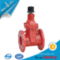 6 inch ANSI AWWA C550 UL FM approved fire protection ductile iron rising stem gate valve