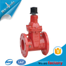 """4"""" 6"""" ANSI AWWA C550 UL FM approved fire protection ductile iron gate valve"""