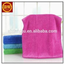 Tingido coral velo micro fibra toalhas auto lavagem de carro