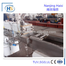 Nanjing Haisi pp /pa /pbt/ abs /as /pc/ pom/ pps /pet /pe plastic granule extrusion line
