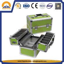Рекламный алюминиевый косметический чемоданчик с 4 лотками