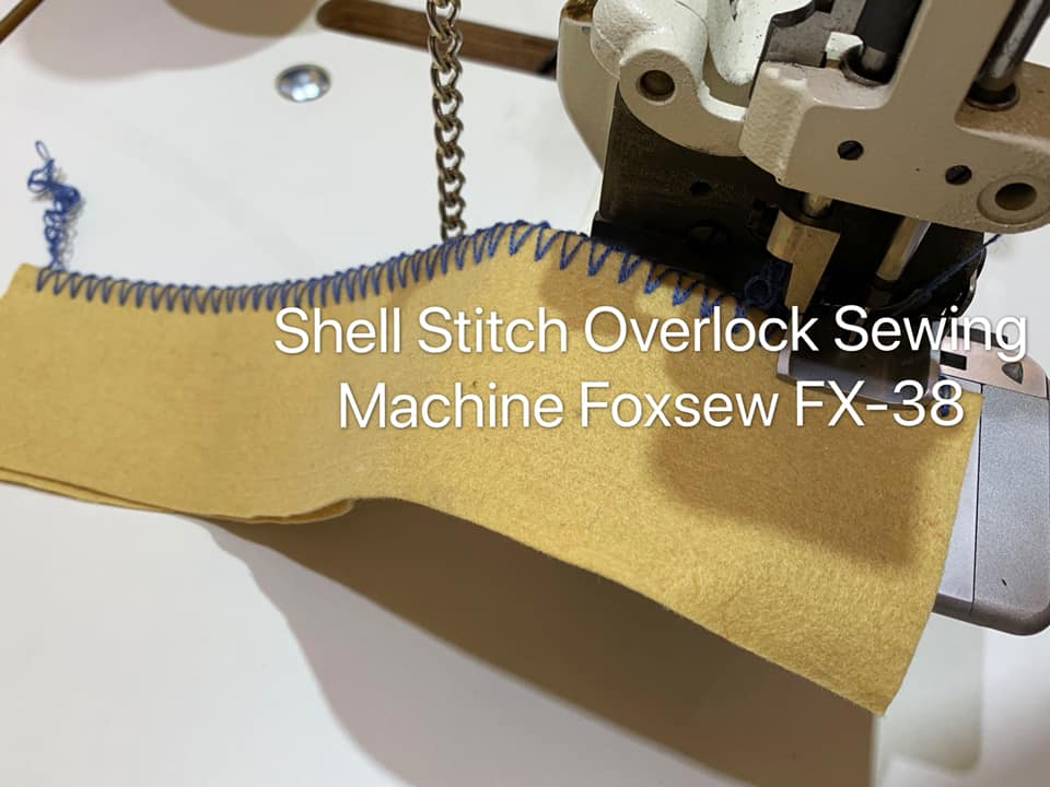 Large Shell Stitch Overlock Sewing Machine 2
