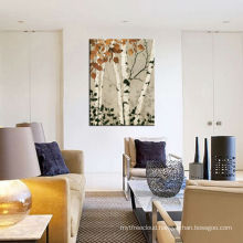 Forest Scenery Oil Painting for Home Decoration