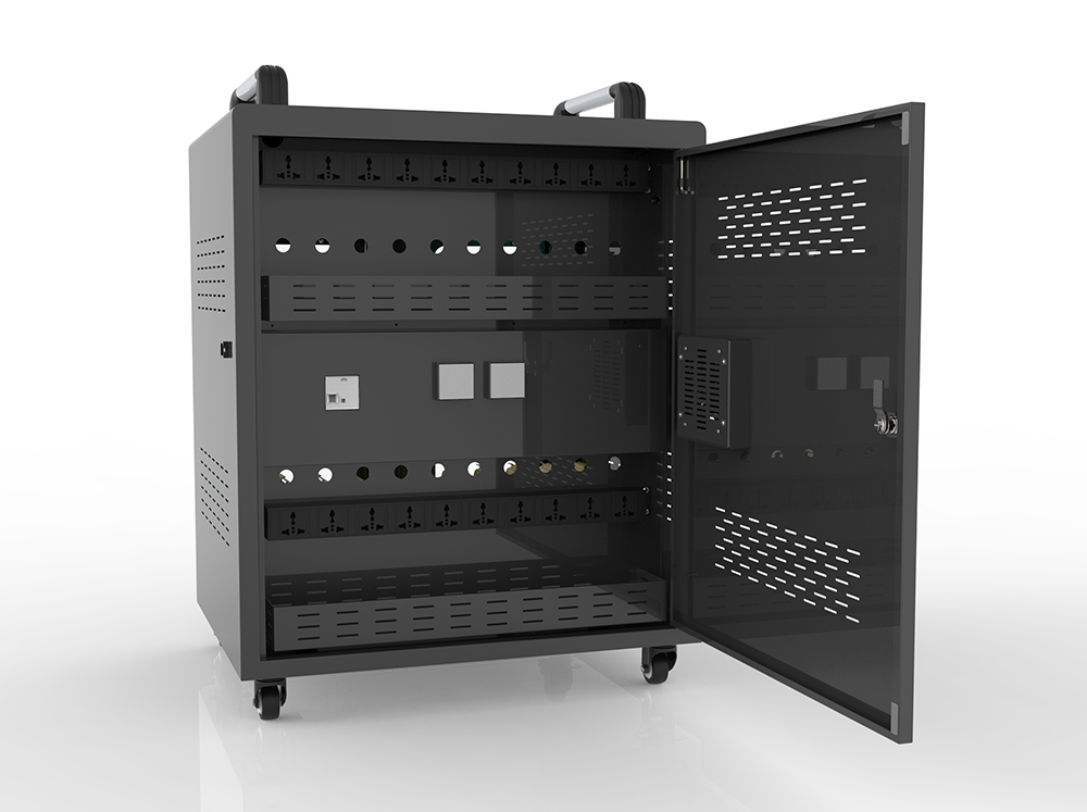 20 Laptops storage charging station