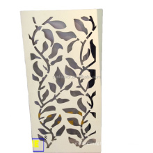Metal Laser Cut Perforated Garden Screens as decoration