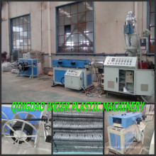 PP PE PVC PA tubos corrugados que hace la máquina