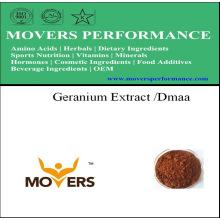 Extrait naturel de plante - extrait de géranium / Dmaa (1,3-diméthylamylamine)