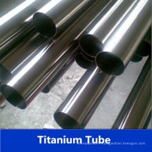 Tube en titane en acier inoxydable gr5 soudé en usine de Chine