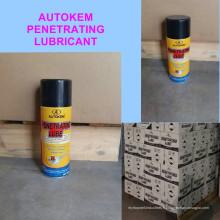 Lubrifiant pénétrant 400ml, pulvérisateur antirouille, lubrifiant polyvalent