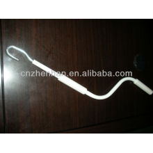 awning parts-Iron rocker head track for awning blinds-awning crank handle,awning material