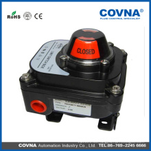 Actuador neumático indicador de posición de la caja de interruptores limitada