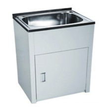 Bathroom White Single Sink Laundry Tub (630)