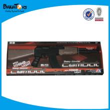 Agitando la pistola, B / O pistola de juguete con sonido, pistola de juguete eléctrica con la música