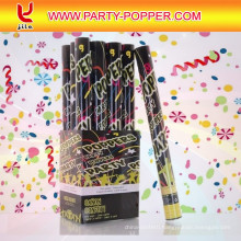 (6 Pack) Large (12 Inch) Confetti Cannons Air Compressed Party Poppers Indoor and Outdoor