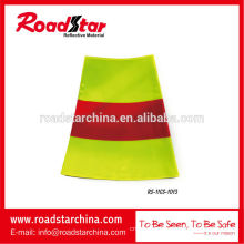 High visibility reflective traffic cone sleeve