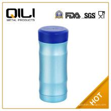 18 8 304 botella de agua de acero inoxidable de grado de alimentos