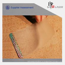 Голографические пластиковые ламинированные пакеты для карты PVC