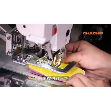 Machine à broder automatique multifonction tissus lourds