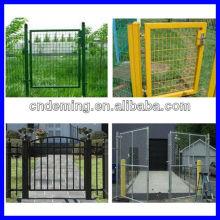 Pvc portão de metal revestido (fabricante e exportador)
