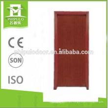Puerta de madera clasificada del fuego de la puerta del fuego de madera popular del diseño