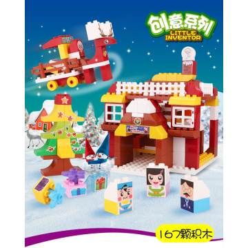 Christmas Building Blocks Toys Preschool Toy for Kids