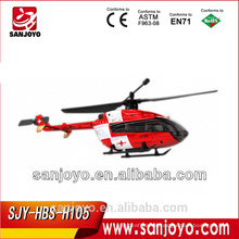 Hubsan H105 4CH 2.4Ghz EC145 single rotor rc helicopter (TX with LCD)
