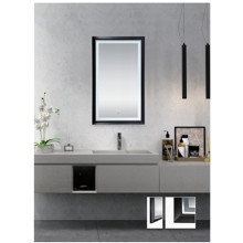 Espejo rectangular de baño LED MH12