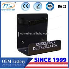Professional vertical support bracket for defibtech defibrillator