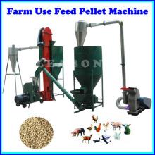 Granja o uso casero Línea de la planta de producción de pellets de alimentación pequeña