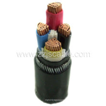 PVC / PE / XLPE / Copper / aisló / cobre / cable de goma