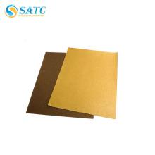 Disque de papier de ponçage delta d'oxyde d'aluminium de vente chaude pour rectifier ou polir sans trous