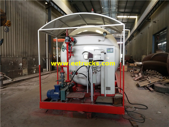 50CBM Skid-mounted LPG Filling Plants