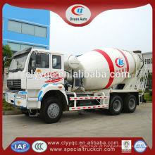 Misturador de concreto da bomba hidráulica do caminhão 10m3 dos misturadores de concreto 6x4 para a venda