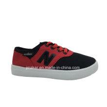 Sapato de lona do esporte infantil clássico chinês (L099-S & B)