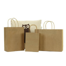 Promotional customized foldable laminated paper tote gift bag