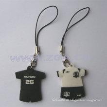 Colgante móvil del diseño 3D para la promoción, el regalo, los bolsos y el teléfono móvil