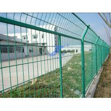 Защищенный металлический забор рамы (производитель)