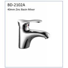Bd2102A Faucet de lavatório de alavanca de zinco de 40mm