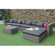 Sofá seccional de venta superior para jardín al aire libre